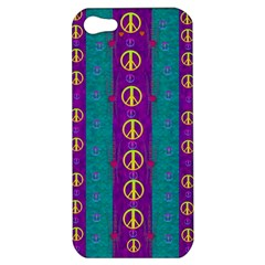 Peace Be With Us This Wonderful Year In True Love Apple Iphone 5 Hardshell Case