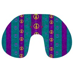 Peace Be With Us This Wonderful Year In True Love Travel Neck Pillows