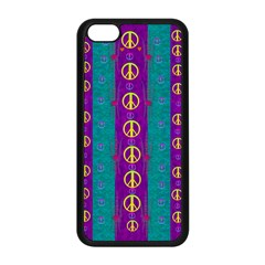 Peace Be With Us This Wonderful Year In True Love Apple Iphone 5c Seamless Case (black)