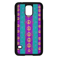 Peace Be With Us This Wonderful Year In True Love Samsung Galaxy S5 Case (black)
