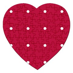 Red Dot Jigsaw Puzzle (heart)