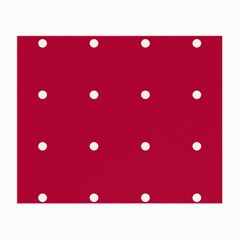 Red Dot Small Glasses Cloth