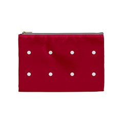 Red Dot Cosmetic Bag (medium)