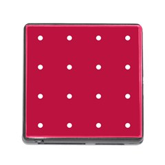 Red Dot Memory Card Reader (square)