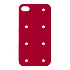 Red Dot Apple Iphone 4/4s Hardshell Case