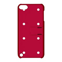 Red Dot Apple Ipod Touch 5 Hardshell Case With Stand