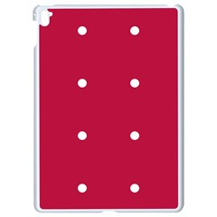 Red Dot Apple Ipad Pro 9 7   White Seamless Case
