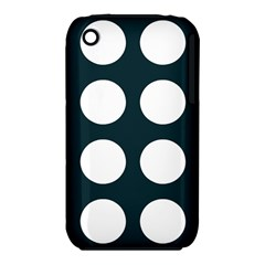 Big Dot Teal Blue Iphone 3s/3gs