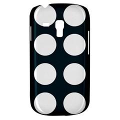 Big Dot Teal Blue Galaxy S3 Mini