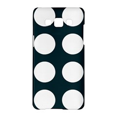 Big Dot Teal Blue Samsung Galaxy A5 Hardshell Case