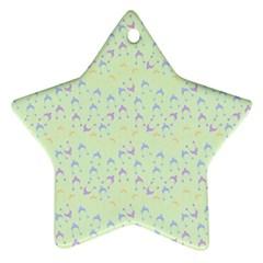 Minty Hats Ornament (star)