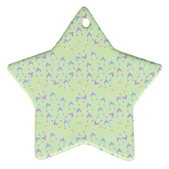 Minty Hats Star Ornament (two Sides)