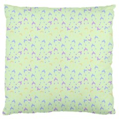 Minty Hats Large Cushion Case (one Side)