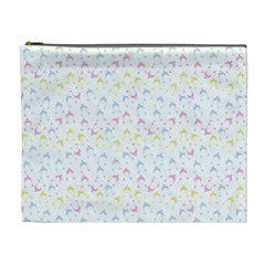Pastel Hats Cosmetic Bag (xl)