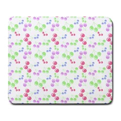 Candy Cherries Large Mousepads