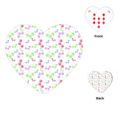Candy Cherries Playing Cards (heart)