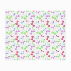 Candy Cherries Small Glasses Cloth (2 Side)