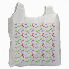 Candy Cherries Recycle Bag (two Side)