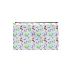 Candy Cherries Cosmetic Bag (small)