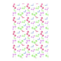 Candy Cherries Shower Curtain 48  X 72  (small)