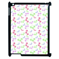 Candy Cherries Apple Ipad 2 Case (black)