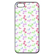 Candy Cherries Apple Iphone 5 Seamless Case (black)