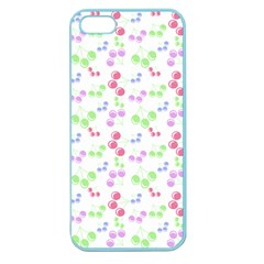 Candy Cherries Apple Seamless Iphone 5 Case (color)