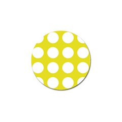 Big Dot Yellow Golf Ball Marker (10 Pack)