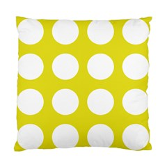 Big Dot Yellow Standard Cushion Case (two Sides)
