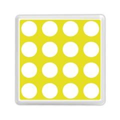 Big Dot Yellow Memory Card Reader (square)
