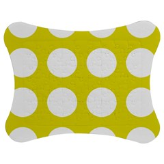 Big Dot Yellow Jigsaw Puzzle Photo Stand (bow)