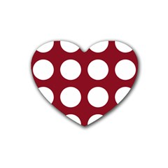 Big Dot Red Heart Coaster (4 Pack)