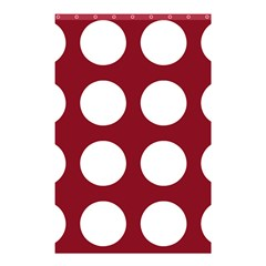 Big Dot Red Shower Curtain 48  X 72  (small)