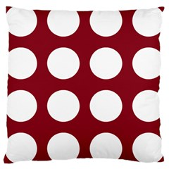 Big Dot Red Large Cushion Case (two Sides)