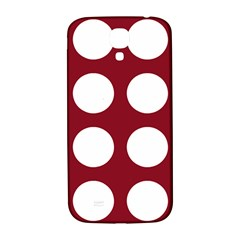 Big Dot Red Samsung Galaxy S4 I9500/i9505  Hardshell Back Case