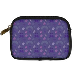 Music Stars Blue Digital Camera Cases