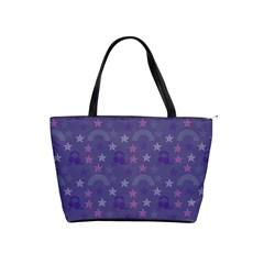 Music Stars Blue Shoulder Handbags