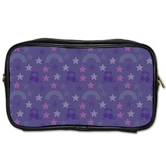 Music Stars Blue Toiletries Bags