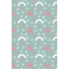 Music Stars Sky Blue 5 5  X 8 5  Notebooks