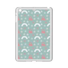 Music Stars Sky Blue Ipad Mini 2 Enamel Coated Cases
