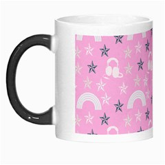 Music Star Pink Morph Mugs
