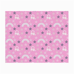 Music Star Pink Small Glasses Cloth