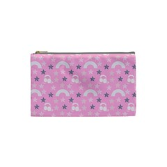 Music Star Pink Cosmetic Bag (small)