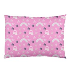 Music Star Pink Pillow Case (two Sides)