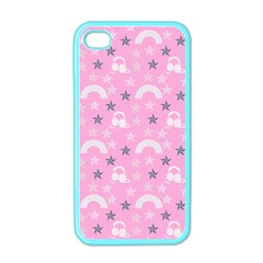 Music Star Pink Apple Iphone 4 Case (color)
