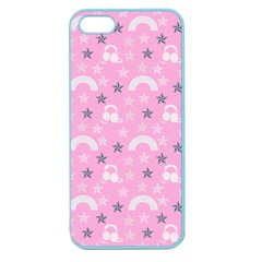 Music Star Pink Apple Seamless Iphone 5 Case (color)