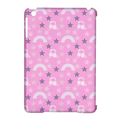 Music Star Pink Apple Ipad Mini Hardshell Case (compatible With Smart Cover)