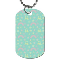 Music Stars Seafoam Dog Tag (two Sides)