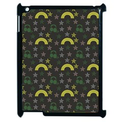 Music Star Dark Grey Apple Ipad 2 Case (black)