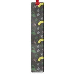 Music Star Dark Grey Large Book Marks